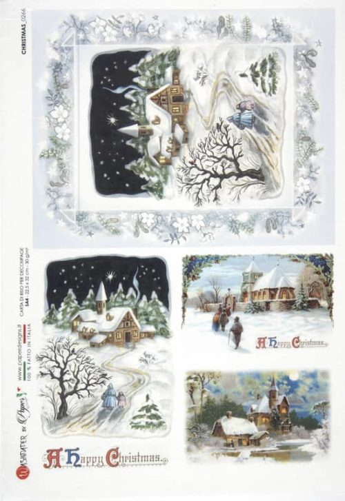 Rice Paper - Christmas 0266