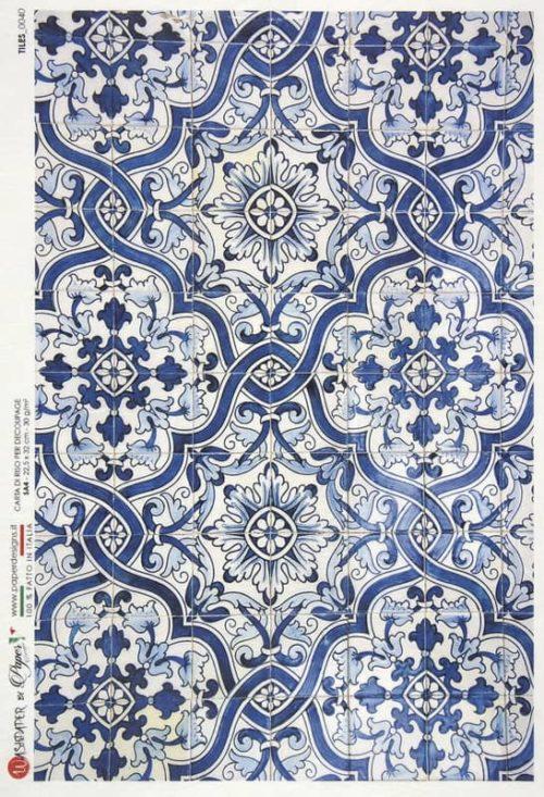 Rice Paper - Tiles 0040