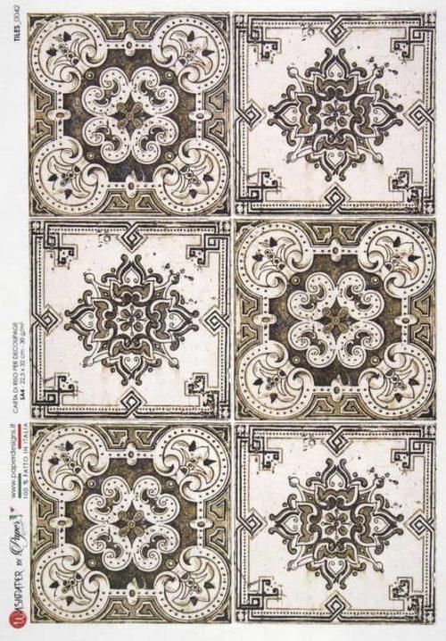 Rice Paper - Tiles 0042