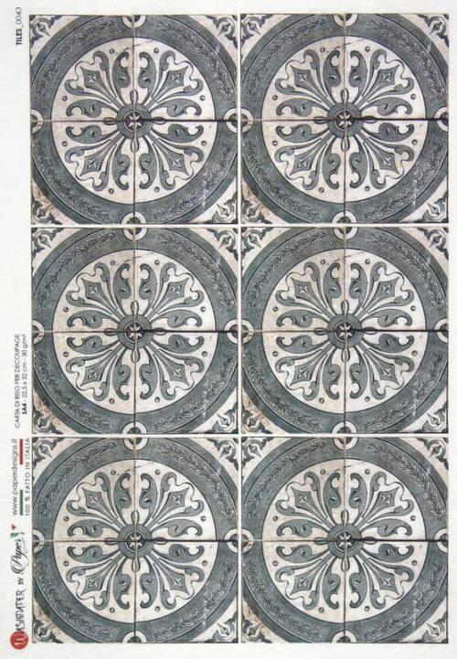 Rice Paper - Tiles 0043