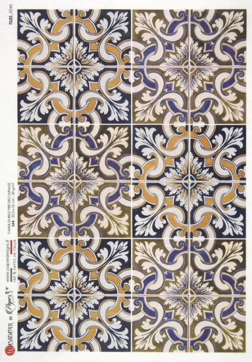 Rice Paper - Tiles 0046