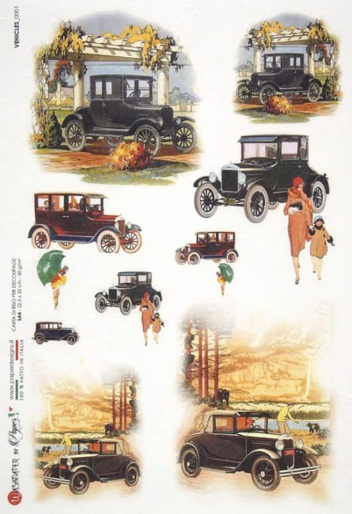 Rice Paper - Vehicles 0001