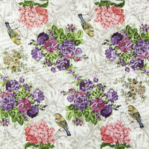 Paper Napkin - Charming Garden
