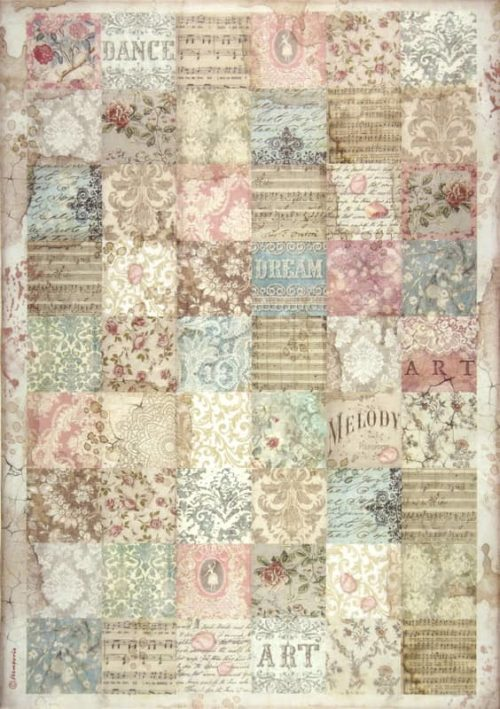 Rice Paper - Passion patchwork