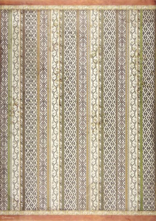 Rice Paper - Amazonia tribal texture