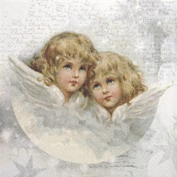 Cocktail Napkins (20) - Angels