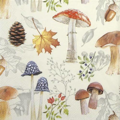 Paper Napkin - Autumn Nature