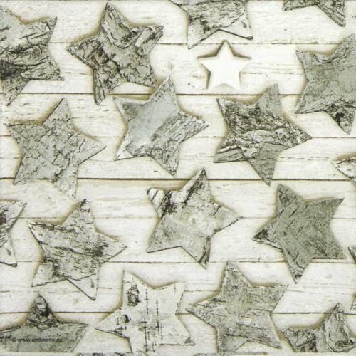 Paper Napkin - Birch Stars