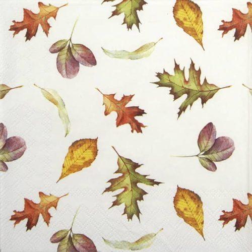 Paper Napkin - Falling Leaves