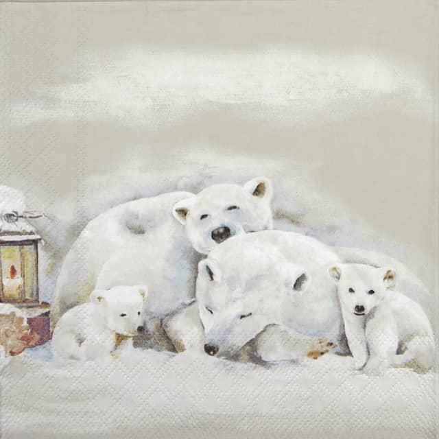 Lunch Napkins (20) - Icebears