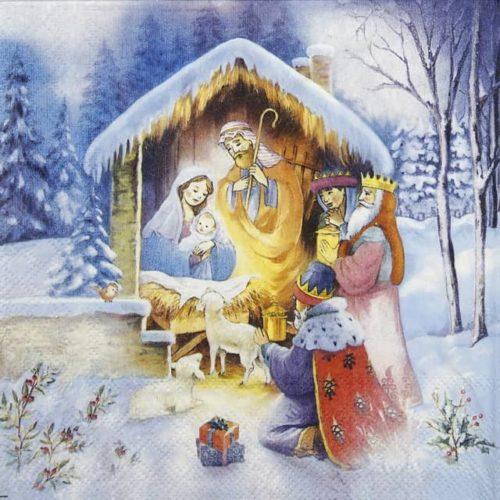 Lunch Napkins (20) - Nativity