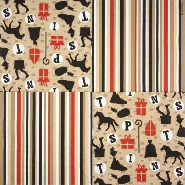 Paper Napkin - Sint & Piet