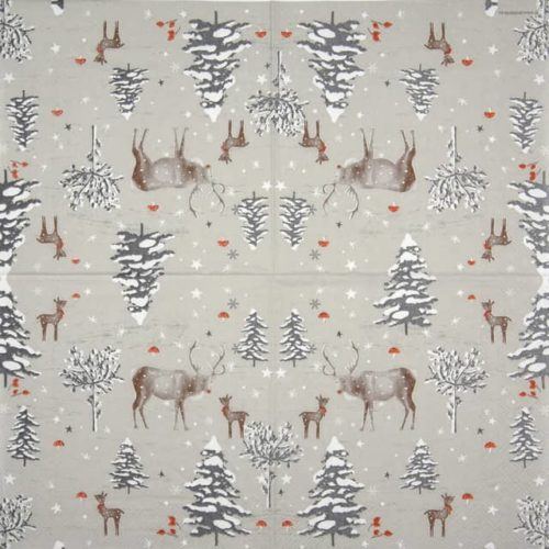 Lunch Napkins (20) - Snow Forest