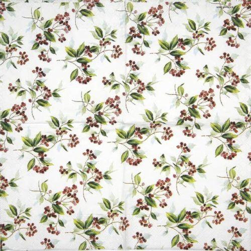 Paper Napkin - Winter Foliage