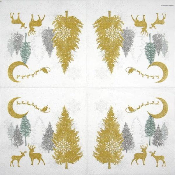 Lunch Napkins (20) - Winter Forest