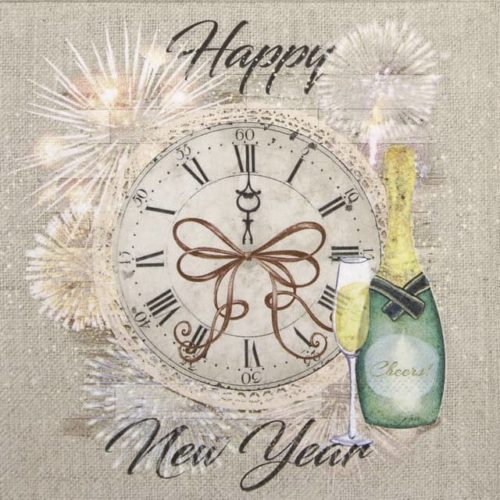 Lunch Napkins (20) - Happy New Year
