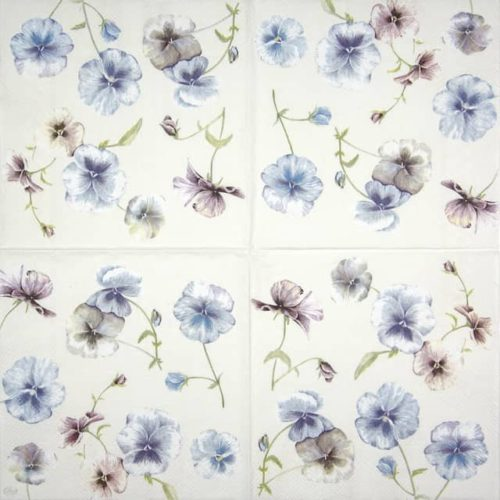 Paper Napkin - Viola in Vogue cream