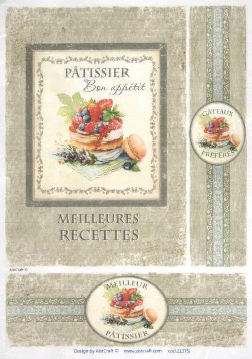 Rice Paper - Pattisier beige