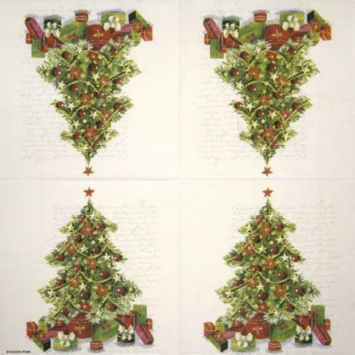 Paper Napkin - Christmas Tree