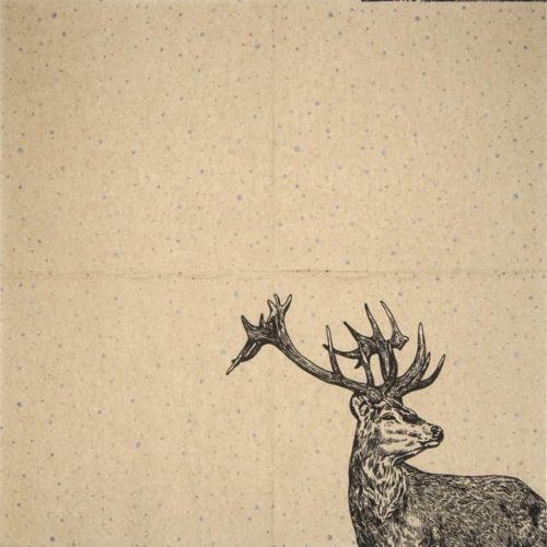 Paper Napkin - Proud Deer