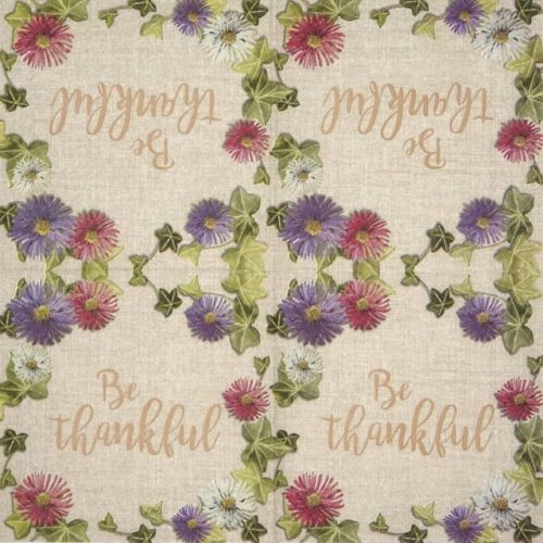 Lunch Napkins (20) - Be Thankful linen