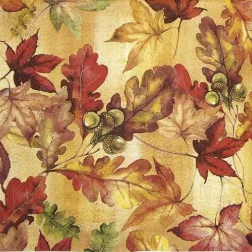 Cocktail Napkins (20) - Bright Autumn
