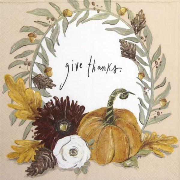 Lunch Napkins (20) - Fall Foliage