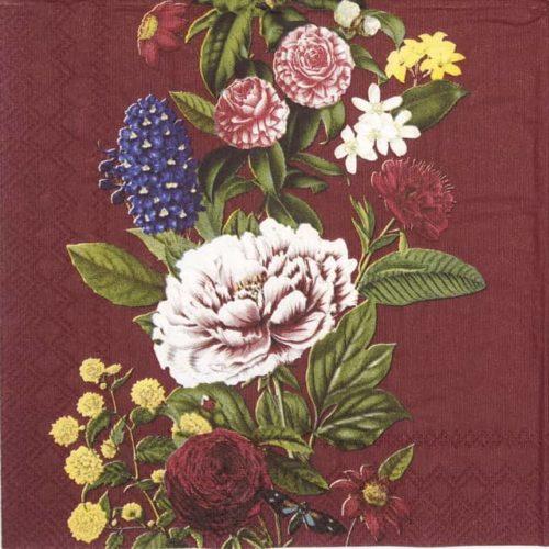 Paper Napkin - Magdalene bordeaux_IHR_928818