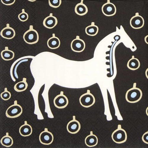 Paper Napkin - Musta Tamma