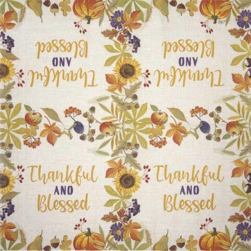 Lunch Napkins (20) - Thankful linen