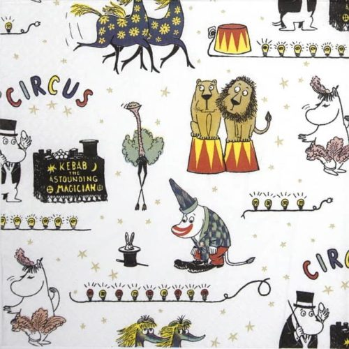 Paper Napkin -  Circus Moomin
