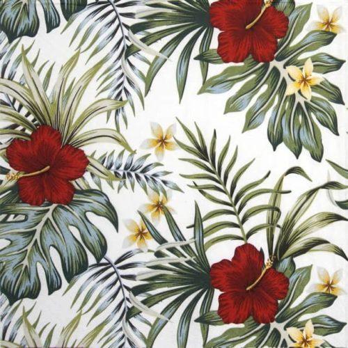 Paper Napkin - Hibiscus