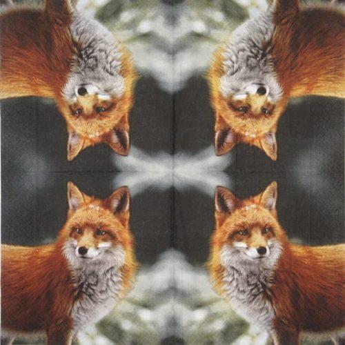 Paper Napkin - Forest Fox
