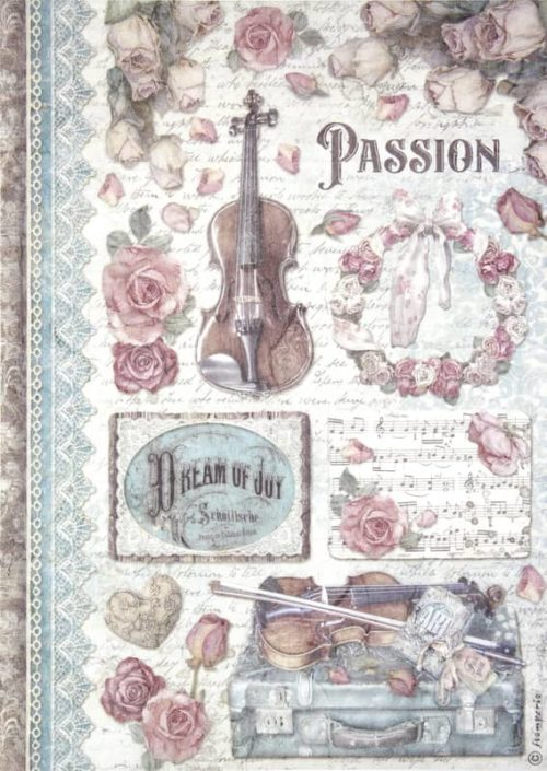 Rice Paper - Passion music