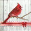 Paper Napkin - Cardinal Bird