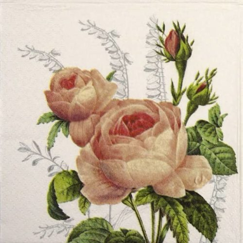 Paper Napkin - Wonderful Rose