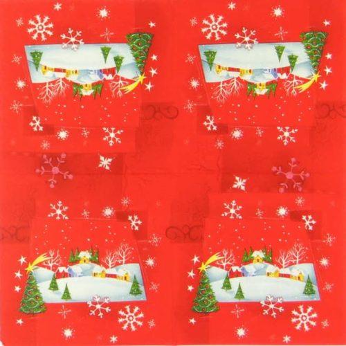 Paper Napkin - Winter Wonderland