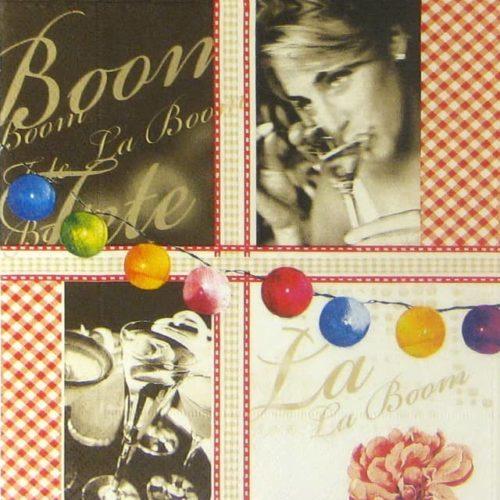 Paper Napkin - La Boom