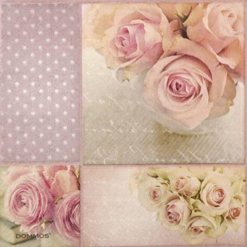 Paper Napkin - Romantic Roses