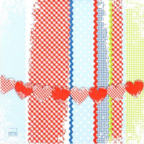 Paper Napkin - Lovely Patterns