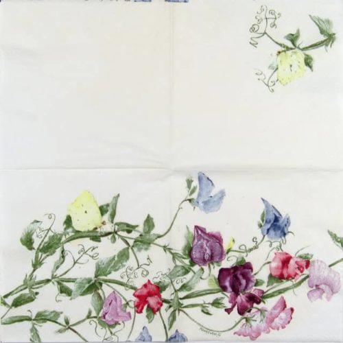 Paper Napkin - Mona Svard: Sweatpea