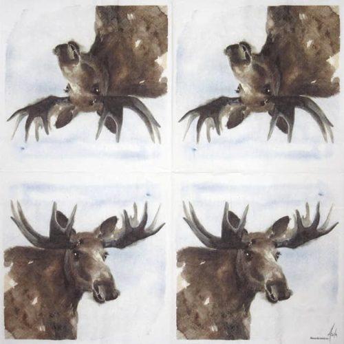 Paper Napkin - Elg