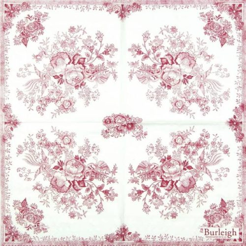 Lunch Napkins (20) - Asiatic Pheasant Pink