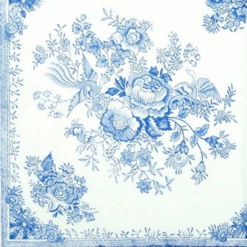 Paper Napkin - Asiatic Pheasant Blue