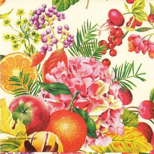 Paper Napkin - Fruit Ensemble