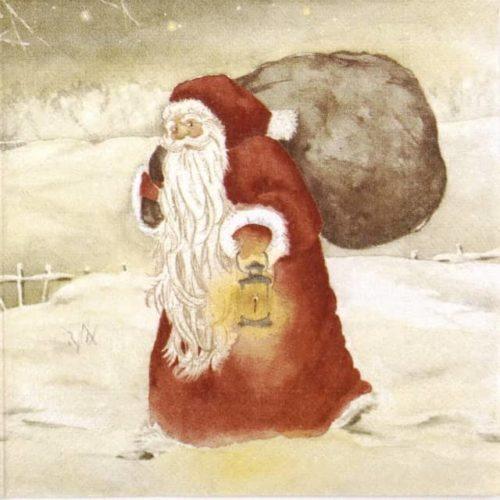 Paper Napkin - Mona Svärd: Christmas