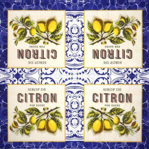 Lunch Napkins (20) - Citron