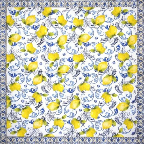 Lunch Napkins (20) - Lemon Garden