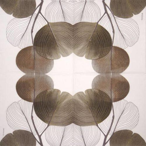 Lunch Napkins (20) - Turnowsky: Autumn Breeze brown