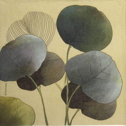 Paper Napkin - Turnowsky: Autumn Glowe green